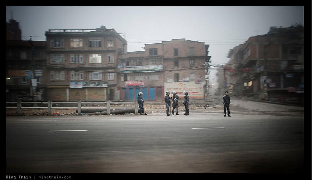 Retirement. Patan Durbar Fire Station, Kathmandu, Nepal. Nikon D700, 24/1.4