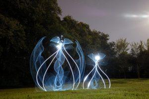عکاسی با تکنیک نقاشی با نور