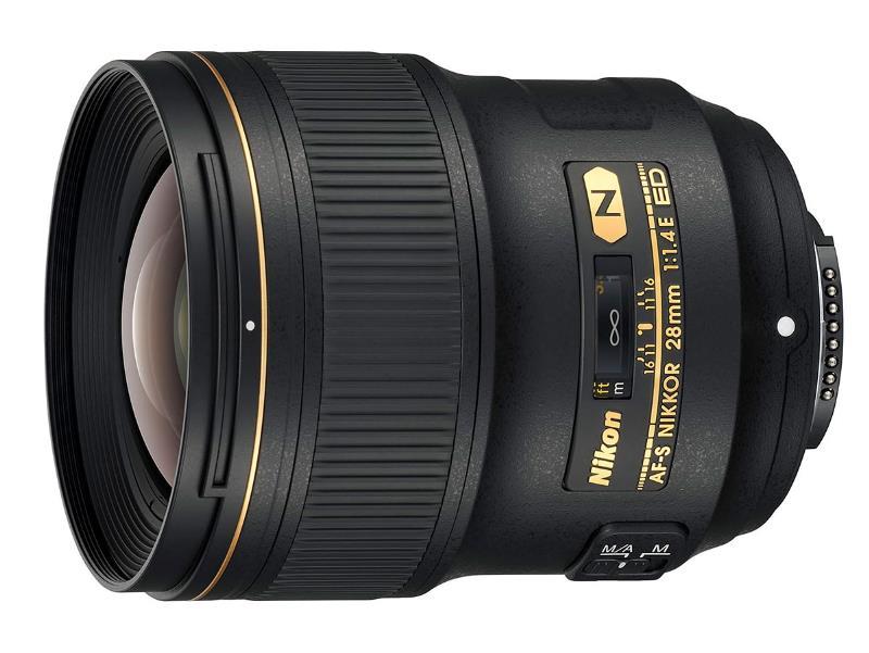 لنز AF-S Nikkor 28mm F1.4E ED